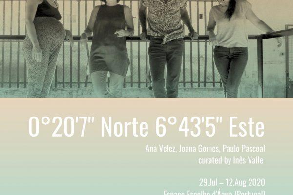 0°20′7″ Norte 6°43′5″ Este